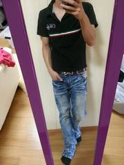 Proto  Lupe / ITALY/ 半袖ポロシャツ