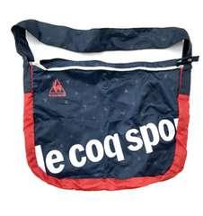 ★lecoq sportif ネイビー×巾着入ショルダーバッグ★