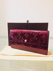 1円 ◆正規品◆ 美品 ルイヴィトン ヴェルニ 長財布