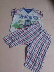 80 トーマスのパジャマ上下  春夏物