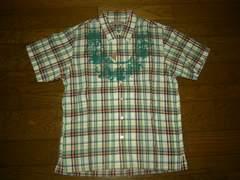 新品hiromichiヒロミチナカノ転写チェックシャツM80%OFF