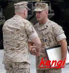海兵隊 階級章 上級曹長