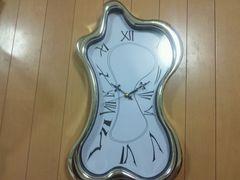 ダリ風★壁掛け時計