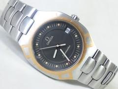 3235/OMEGAオメガ☆シーマスター定価20万円位K18コンビモデル/メンズ腕時計