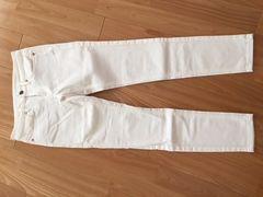 未使用 正規品 無印良品 スキニーパンツ 22(56cm) ホワイト
