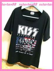 ☆GOODSPEED☆KISSゆるロックTシャツ☆