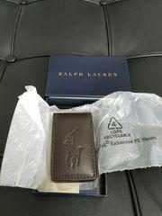 Ralph Lauren皮のマネークリップ