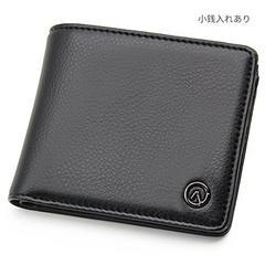 二つ折り 財布 メンズ 小銭入れあり 多機能 大容量 コンパ