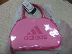 adidas ミニバック ピンク