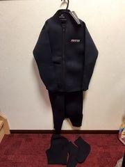 FORTEX  ウエットスーツ Mサイズ 4点セット