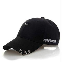特別提供価格890円★アジアで超人気 ピンフープ野球帽 黒F