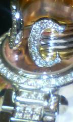 正規Cartier2C極上ダイヤモンド幅広