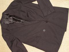 レディース*長袖テーラードジャケット(ブラック)フォーマル