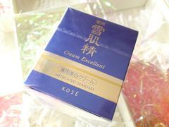 コーセー雪肌精薬用美白クリーム クリームエクセレント 50�c 未開封