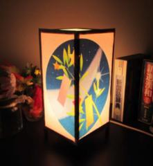 ≪七夕飾り・夢灯かり≫安らぎの癒しライトスタンド・3形