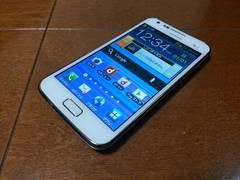 即落/即発!!美中古品 SC-03D Galaxy S2 LTE ホワイト