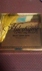 Hilcrhyme ヒルクライム BEST 2006-2016初回版3CD+DVD