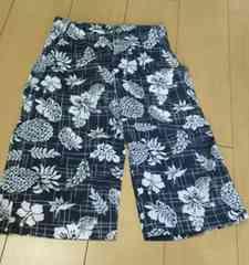◎新品◎ハワイアン柄半パンツ・160