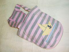 マリンボーダーキャミソール胴40cm(ピンク)