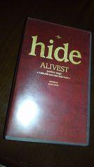 hide/ALIVEST/2本組VHS/LIVE/X JAPAN
