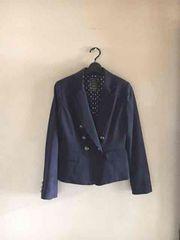 【即決】MIMOSA◆春〜◆上質濃紺テーラードジャケット◆9