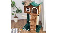 オシャレ 猫ちゃんのお家 キャットタワー