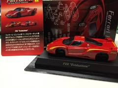 京商フェラーリ11 FXX エボ ☆イエローライン