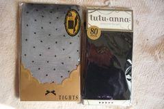 チュチュアンナ★2枚セット新品タイツ