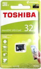 東芝 32GB microSDHCカード(マイクロSDHCカード32ギガ) 読込Max100MB/s