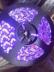 モバオク最安値12VLEDテープ5050紫ピンク5メートル