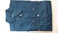 激安77%オフヴェルサーチ、長袖シャツ(美品、紺、イタリア製、M)
