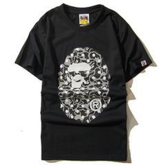 ape 半袖Tシャツ 黒  L エイプbigmonkey a bathing ape