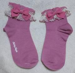 シャーリーテンプル☆ピンク☆リボン☆靴下