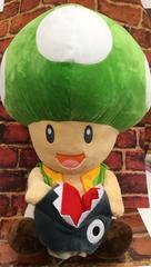 評価祭スーパーマリオ/キノピオくんギガジャンボ小物入れ付ぬい45�p