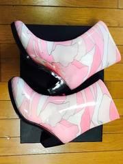Rady ミルフルール レインブーツ ピンク フリーサイズ美品