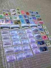 切手。大量。
