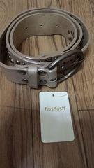 超激安 正規品 未使用 HusHusH  オリジナル ベルト