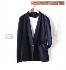 ICB*アイシービー*きれいめウールジャケット・L♪¥30000♪卒業式入学式
