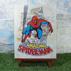 新品【ブリキ看板】Spider-Man/スパイダーマン Comic Cover