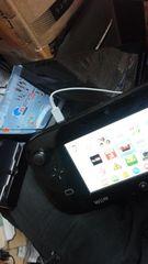 ニンテンドー WiiU ブラック セット 送料着払い