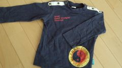 T&C☆長袖Tシャツ♪80  ネイビー