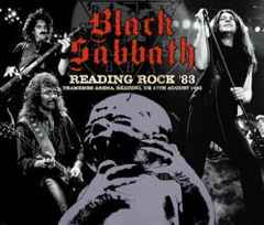 BLACK SABBATH  READING ROCK 83 (3CD) Vocal : IAN GILLAN