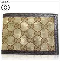 GUCCI 292534-ky9ln-9903 二つ折り財布 ベージュ ブラウン