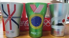 当選品 コカコーラオリジナル オリンピック協賛記念アルミタンブラー
