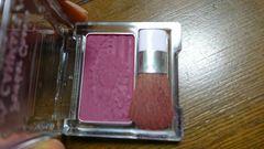 キャンメイクパウダーチークPW38ピンク赤紫