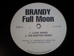 即決 BRANDYブランディ大ヒット曲「FULL MOON」激レアREMIX!