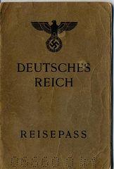 ナチスドイツ政府発行パスポート
