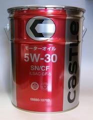 最高品質!!トヨタ キャッスル エンジンオイルSN/CF5W-30 20L