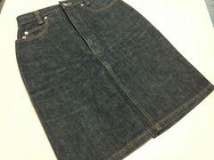デニム★黒のジーンズスカート★サイズ63cm