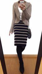 【美品】ABAHOUSE/アバハウス◆定価20520円◆羊毛ニットジャケット